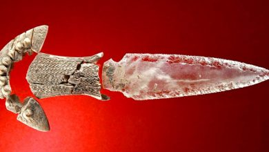 "Photo of Found In Spain A Magnificent Crystal Dagger From 5,000 Years Ago. It Had ""Magical"" Powers."