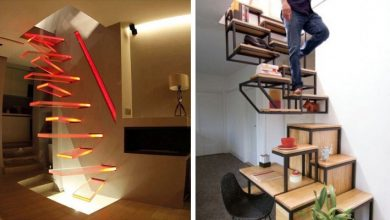 Photo of 15 Examples Of Stairs So Absurd That We Doubt The Lucidity Of The People Who Designed Them.