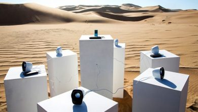 "Photo of Toto's song ""Africa"" ​​will Sound Forever In The Namibian Desert. A Curious Sound Installation."