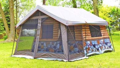 Photo of This Cabin-style Camping Tent Offers A Luxurious Experience And Is Thought Through To The Smallest Detail.