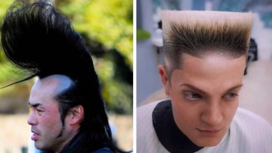 Photo of 15 People Who Pushed The Limits Of Good Taste By Sporting Rather Daring Haircuts.