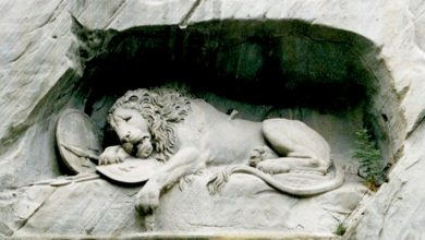 Photo of The Lion Of Lucerne: The Sculpture Where The Artist Hid The Silhouette Of A Pig Out Of Mischief.