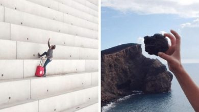 Photo of 20 Optical Illusions So Perfect They Look Like They Were Made In Photoshop.