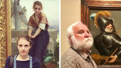 Photo of 15 People Accidentally Found Their Lookalike In A Museum Painting.