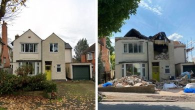 Photo of Builder Demolishes £ 500,000 House While Owner Is On Vacation.
