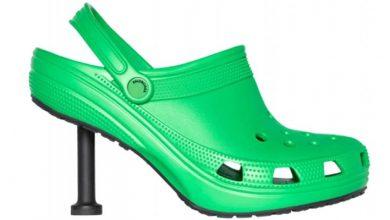 Photo of Comfortable But Elegant: Balenciaga Launches Its Crocs With Heels.
