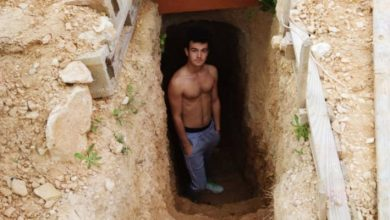 Photo of He Digs A Cave In The Garden After Arguing With His Parents: 6 Years Later, It's His Underground House.