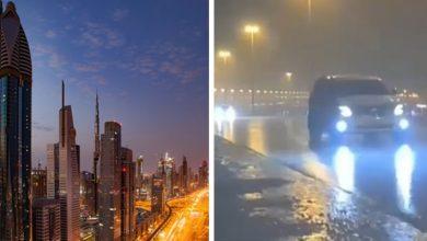 """Photo of Dubai """"Creates"""" Artificial Rain: Drones Fight Against High Temperatures."""