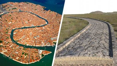 Photo of Venice, A Roman Road Discovered At The Bottom Of The Lagoon: It Is Older Than The City Itself.