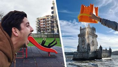 Photo of This Photographer Plays With Perspective To Create Fun And Imaginative Shots.