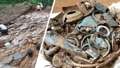 Photo of 2,800-year-old Vases Filled With Jewelry And Tools Discovered In France: They Are Intact.